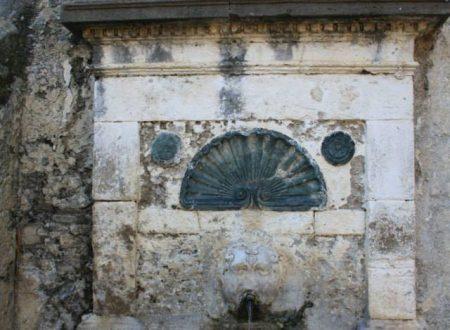 La fontana in contrada Augurato, a Campora S.G., CS