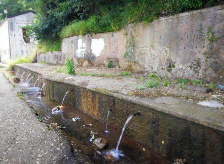 Fontana tra Acconia di Curinga e l'Angitola, nel catanzarese
