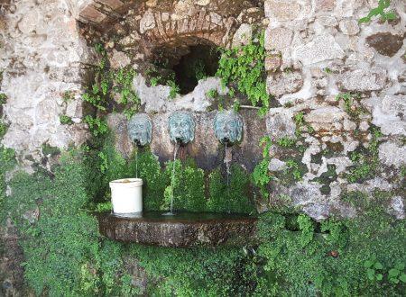 Le fontane di Mongiana nel vibonese