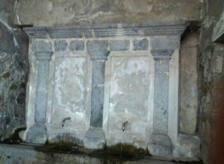 Le fontane di Argusto nel catanzarese
