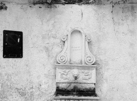 Le fontane di Curinga nel catanzarese