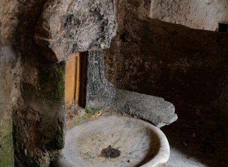 La fontana nel palazzo Alemanni a Tiriolo, CZ