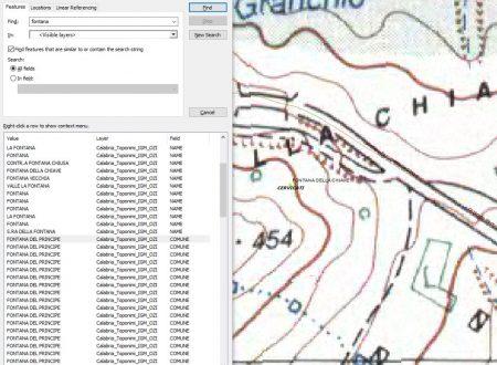 Fontane della cartografia dell'IGM, di Giuseppe Celsi