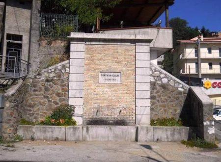 Le fontane di Sersale nel catanzarese