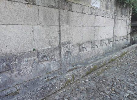Le fontane di Mendicino nel cosentino