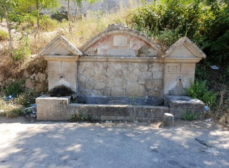 Le fontane di Drapia nel vibonese